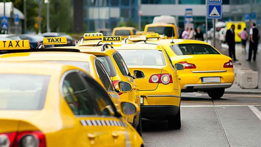 Очередь такси на страховку